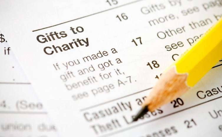 Gift to Charity Form